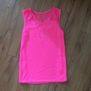 Total Girl Pink Tank Top